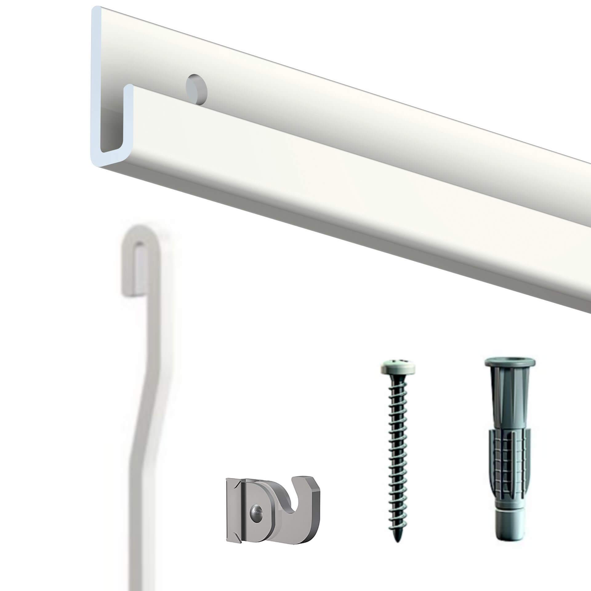 kit classic rail blanc - cimaise